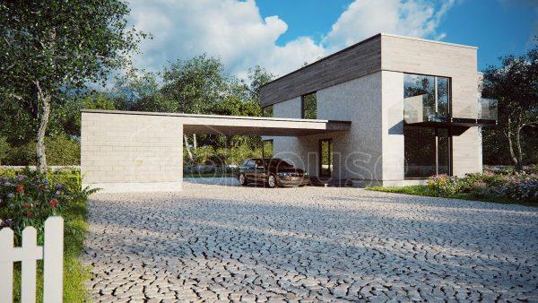 Modern 2 storey Ecohouse