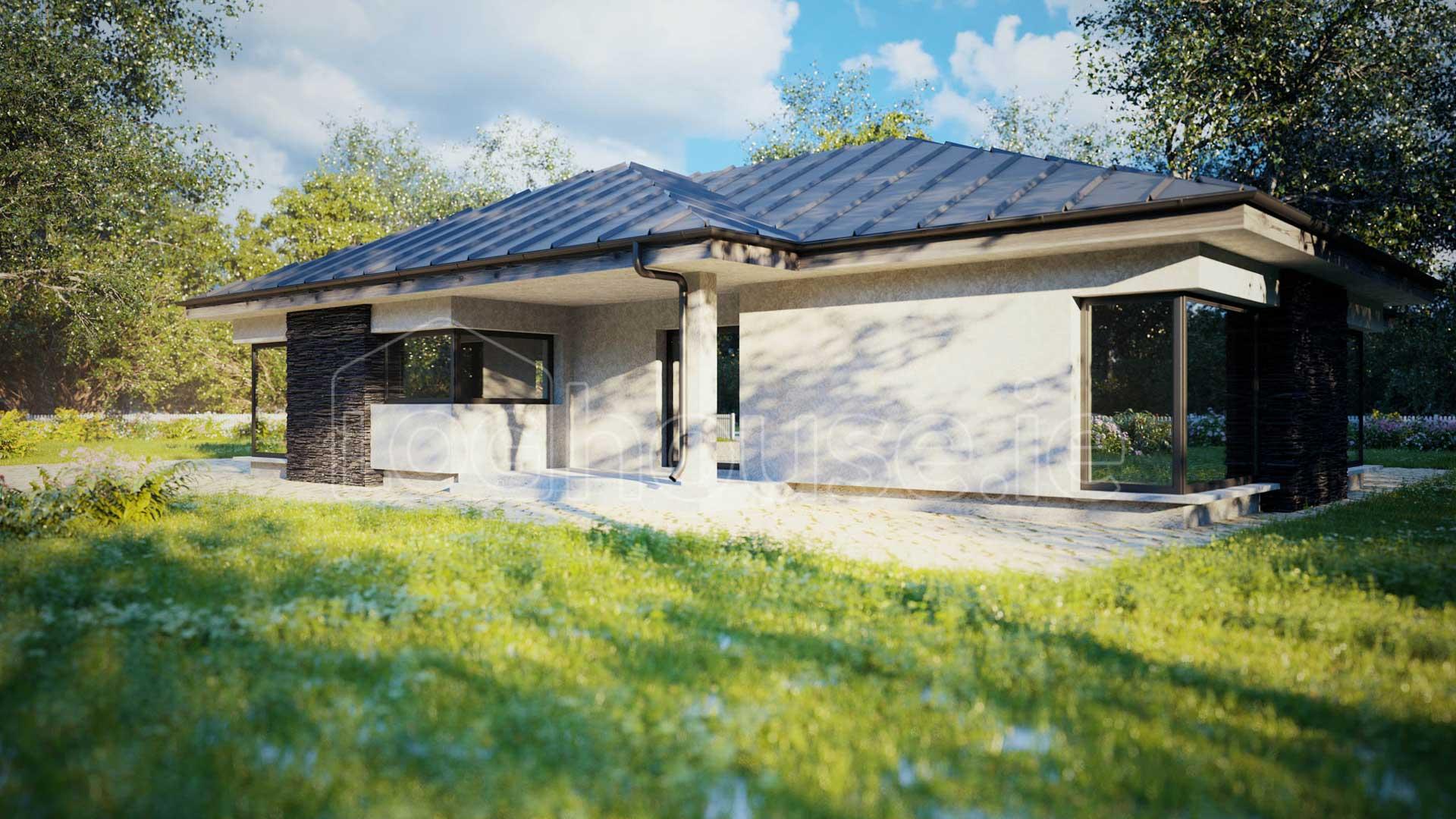 Bungalow Ecohouse external