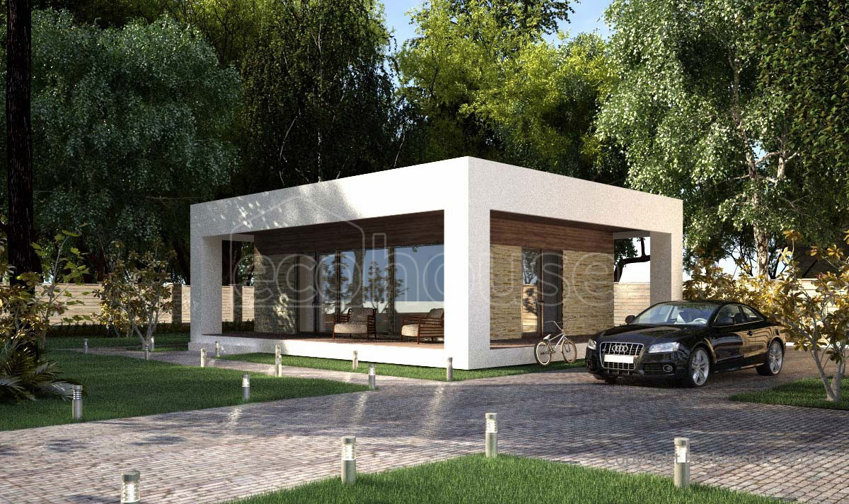 Modern 1 Storey Exterior