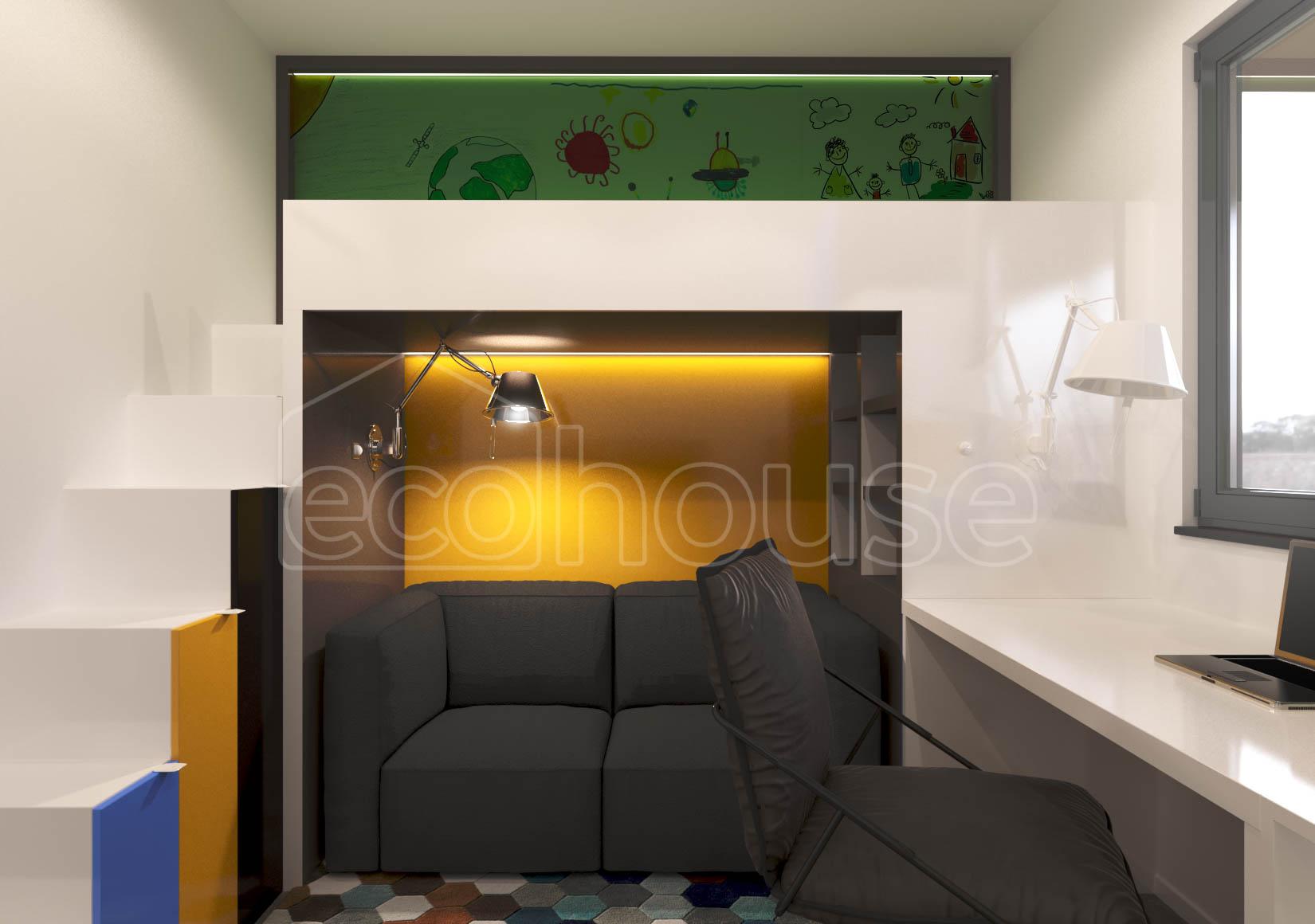 Modern 1 storey Ecohouse