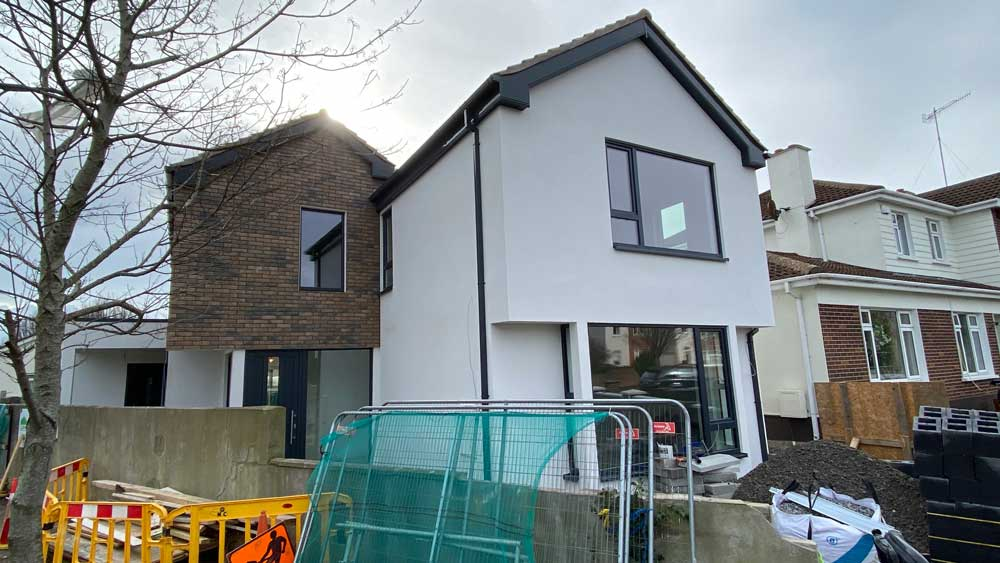 Eco House Construction - Blackrock 1